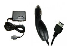 DC AC Wall Home + Car Kit Charger for Tracfone T-Mobile Verizon Samsung Phones