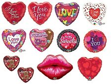 "18"" Foil Balloons Qualatex - LOVE/AFFECTION/VALETINES/ANNIVERSAY (Helium)"