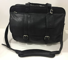 New KORCHMAR Z1162 Oliver Leather Expandable Computer Briefcase Overnighter $599