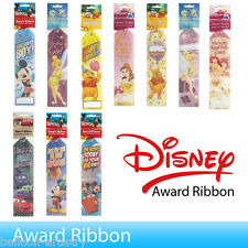 12 x Disney Childs Happy Birthday Party Gift Award Ribbon All Under One Listing