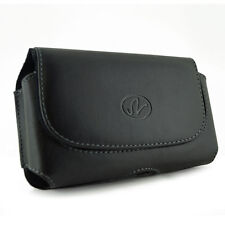 High Quality Leather Case Cover Clip Pouch with Belt Loops for ATT Phones