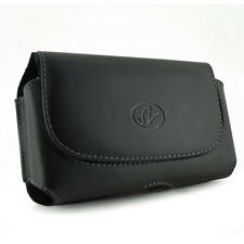 Premium Leather Cover Case Pouch Clip for US Cellular and Virgin Mobile Phones