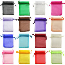 10x12cm 26 Colours Premium ORGANZA Wedding Favour GIFT BAGS POUCHES