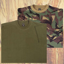 KIDS BOYS ARMY CAMO DPM MILITARY GREEN T SHIRT CADETS CAMOUFLAGE ALL SIZES