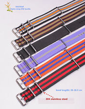 20MM Nylon Watch band watch strap colorful fashion watch band 48color available