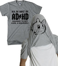 Ask Me About My ADHD T Shirt Funny Flip Shirts