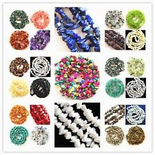 L-68 Wholesale 5-10mm, 2-4mm Chip Nugget Freeform Gemstone Loose Bead 34 inch