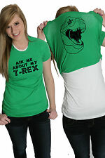 Women's Ask Me About My T-Rex T Shirt Funny Flip Up Trex Shirts For Women
