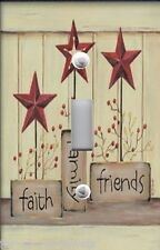 Light Switch Plate & Outlet Covers INSPIRATION ~ FAITH FAMILY &  FRIENDS