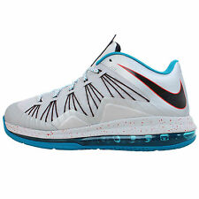 Nike Air Max Lebron X Low 10 Akron Aeros James 2013 Basketball Shoes Sneakers 9