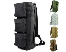 Airsoft Molle Tactical Assault Go-Bag Transformers Backpack Bag 5 Colors BK/TAN