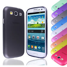 New Ultra Thin Transparent Plastic PC Case Cover FOR Samsung Galaxy S3 III i9300
