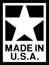 Made in USA #2 Vinyl Decal Sticker Car Window Wall Printed