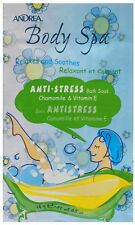 Andrea Vitamin E Anti-Stress Bath Soak SK-76X