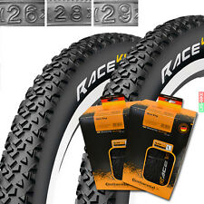 "2 x Continental Race King 26"" -29"" MTB neumáticos de bicicleta 1 pares bike tire manta"
