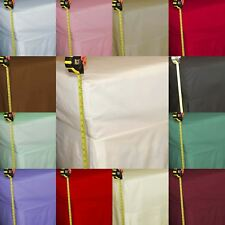 """FITTED VALANCE SHEETS, Percale 200TC, 26"""" EXTRA DEEP, Pleated Box Pleat"""