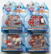 SNOW IN MY POCKET MOM & BABIES 4 PACK Very Small Figures Choose Family From Menu