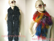 free shipping /real  mongolian fur overlength scarf/3color/multicolor/black