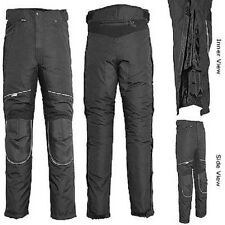NEW PREMIUM WATERPROOF INSULATED ARMORED MOTORCYCLE PANTS SIZES RETAIL $149