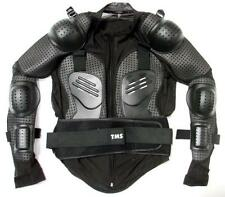 Motorcycle Full Body Armor Shirt Jacket Motocross Back Shoulder Protector Gear