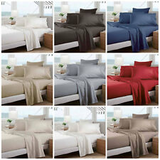 Classic Percale 300TC Sheet Set by Sheridan Single/King Single/Double/Queen/King