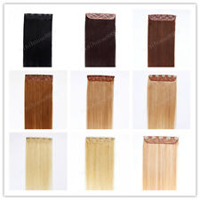 """16"""" Indian Remy Human Hair One Piece Volumizer Clip In Extensions 55g,15 colors"""