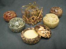 SOLID PERFUME India Handcarved Soapstone - KARMA enhancer in Your Scent Choice