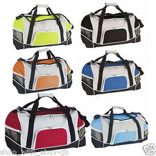 LARGE SPORTS GYM HOLDALL BAG - LUGGAGE WEEKEND TRAVEL / FOOTBALL - 60X30X30CM