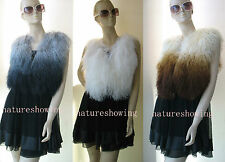 free shipping /real  whole skin  mongolian lamb fur vest  update popular colour