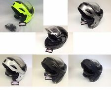 Gmax GM54S Modular Snowmobile Helmet W/ Electric Shield Option & LED Lights snow