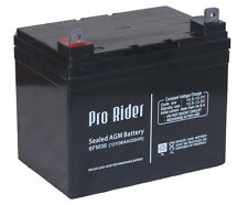 PRO RIDER MOBILITY SCOOTER AND GOLF TROLLEY BATTERIES