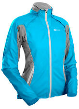 Women's Versa CYCLING JACKET with removable sleeves. In Cyan by Sugoi.