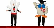 Hamburger Helper Hand OR Tootsie Roll Mr. Owl Adult or Mr PENQUIN Costume NW