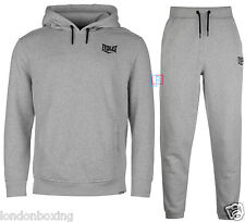 Everlast Tracksuit Grey Over the head Hoody & Jogging Bottoms Sizes S - 4XL