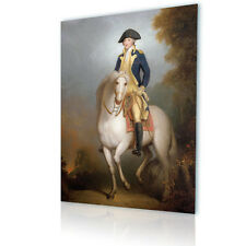 BIG Canvas Rembrandt George Washington Horse fine art photo repro prints decor