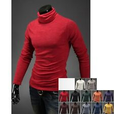 rodo mens cardigan sweater turtle neck pullover 12 color US XS S M L XL