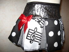 NEW Baby Girls CUTE Black,red,White,music,spot,check,leopard Skirt,Gift,