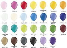 """2500 plain 10"""" Party Balloons Choose from 27 colours Latex balloons"""