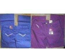 NWT Beverly Drive Glam fit no gap contoured waist jeans BLUE or PURPLE