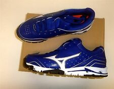 Mizuno Speed Trainer 4 Men's Baseball Turf Shoes NEW Royal/White Size 10.5