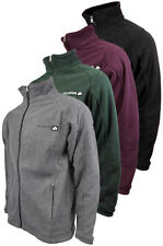Men Location Full Zip Warm Polar Fleece Jacket Anti Pill Work Winter Coat New
