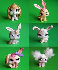 LPS LITTLEST PET SHOP PETS - RABBITS & BUNNIES -  LOTS TO CHOOSE FROM