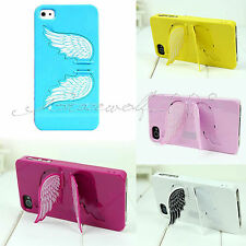 New Ice Cream Color The Wings Of An Angel Stents Case Cover for iphone4 4S 5 5S