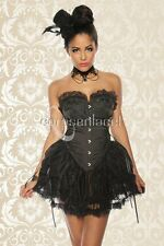 GUEPIERE SEXY GHOTIQUE CORSET BUSTIER SERRE-TAILLE DENTELLE GLAMOUR SEXY