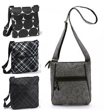 NEW thirty one gift Organizing shoulder Bag purse in grey quilted poppy more 31