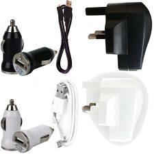 3 IN 1 3 PIN UK MAINS AND IN CAR CHARGING KIT FOR SAMSUNG S5830 GALAXY ACE PHONE