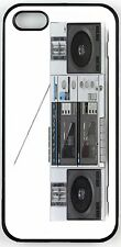 Rikki Knight Retro Boom Box Stereo Case for iPhone 4/4s, 5/5s, 5c, 6/6p