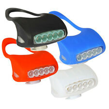 New 7 LED Headlight Cool Frog  for Bicycle Bike Safety Lights Waterproof Light