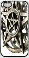 Rikki Knight Pentagram With Reflection Macro Shot Case for iPhone 4/4s, 5/5s, 5c
