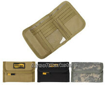 LooYoo Tactical Military Men's 1050D Nylon Bifold Wallet Pouch Bag BK/TAN/ACU